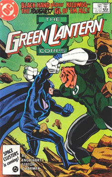 The Green Lantern Corps 206