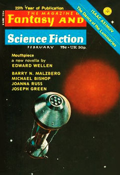 The Magazine of F&SF - February 1974
