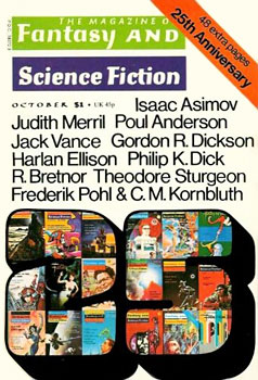 The Magazine of F&SF - October 1974